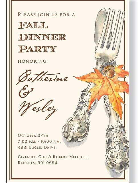 Fall - Autumn Cutlery
