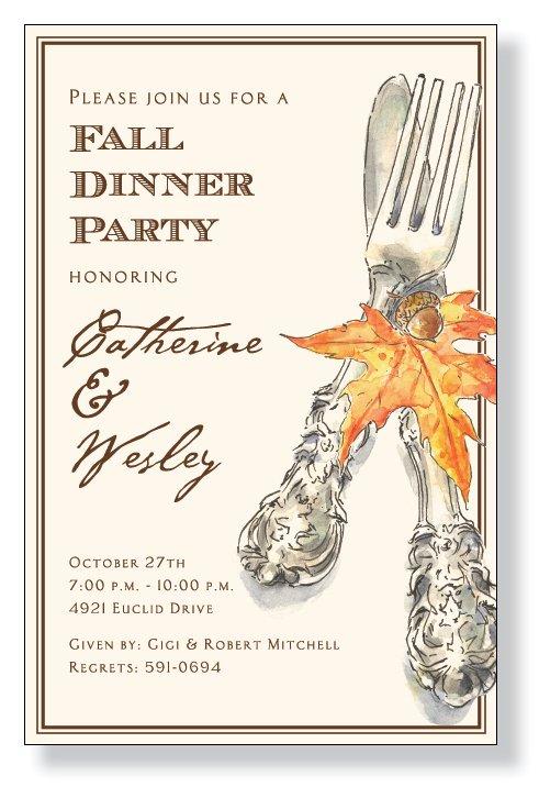 Fall - Autumn Cutlery
