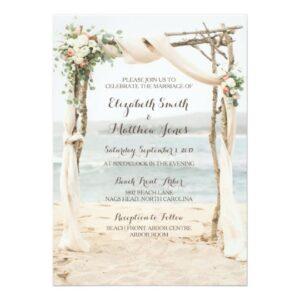 Beach Arbor Wedding Collection