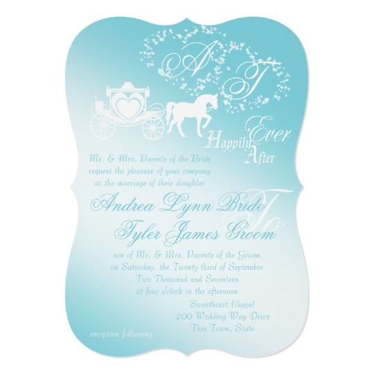 Storybook Horse and Carriage Fairytale Wedding