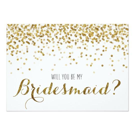 Gold Glitter Confetti Wedding