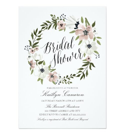 Lovely Floral Wedding Collection