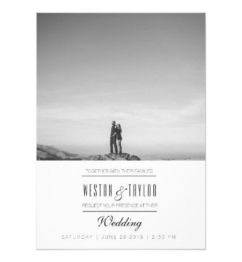 Modern & Minimal Wedding