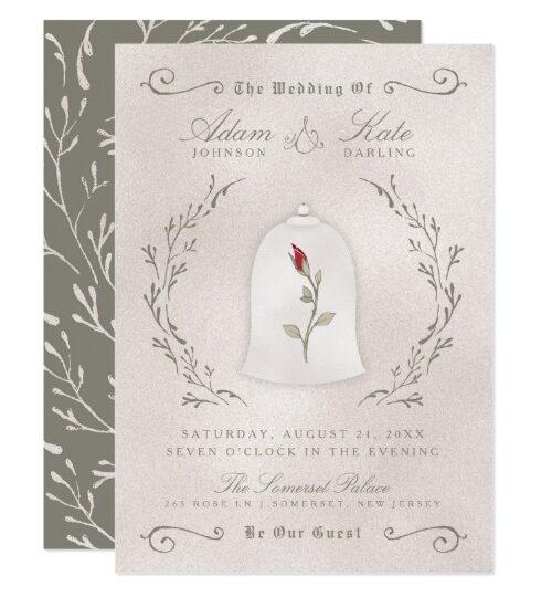 WEDDING | Elegant Red Rose of Beauty