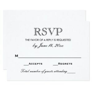 Wedding Collection   Black and White Color Scheme