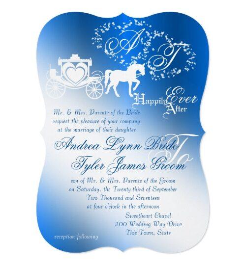 Royal Blue Fairy Tale Wedding
