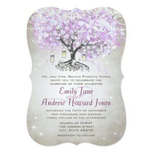 Lavender Heart Leaf Tree