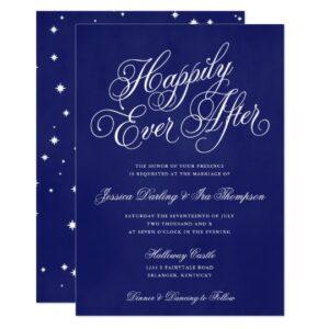 Fairytale Script Wedding Set