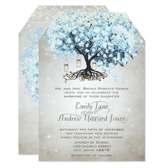 Blue Aqua or Teal Wedding Collection
