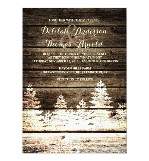 Best Rustic Wedding Invitations Organized by Style