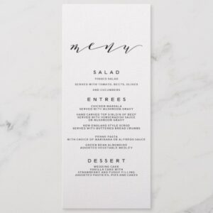 Simple Romance Calligraphy Wedding Collection