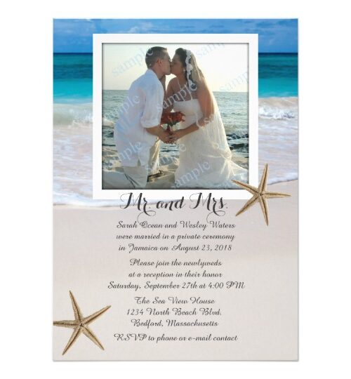 Sandy Beach Wedding