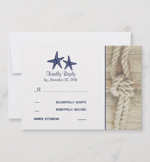 Nautical Rustic Driftwood Wedding Collection