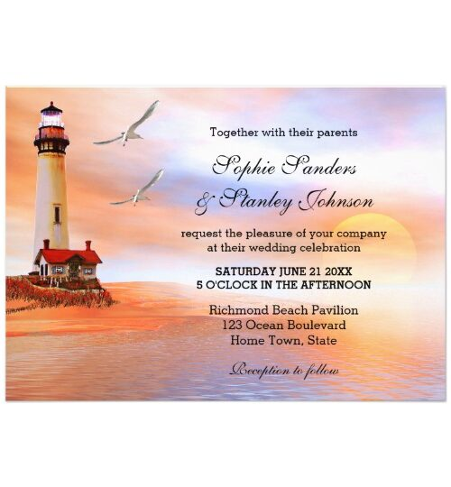 Lighthouse Beach or Destination Wedding