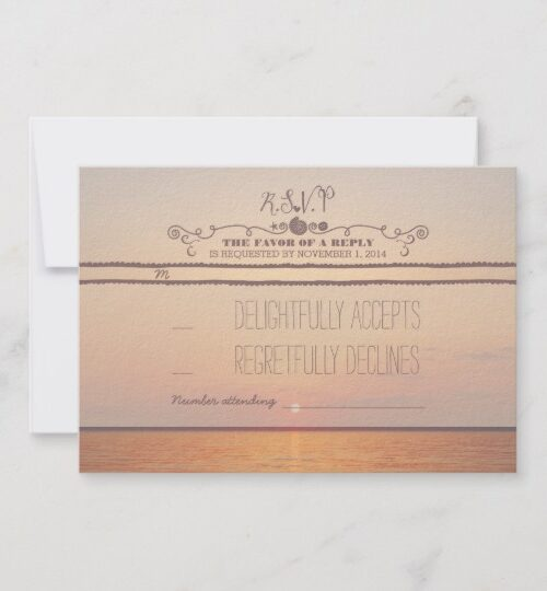 Sunset Beach Wedding Collection
