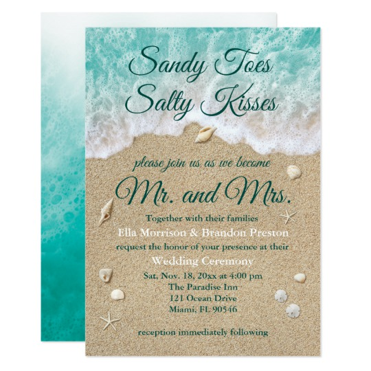 Turquoise Waves Wedding Collection