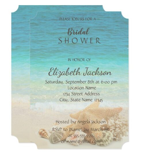 Beach ,Seashells Wedding Collection