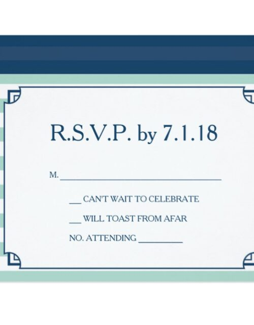 Nautical Invitation Sets