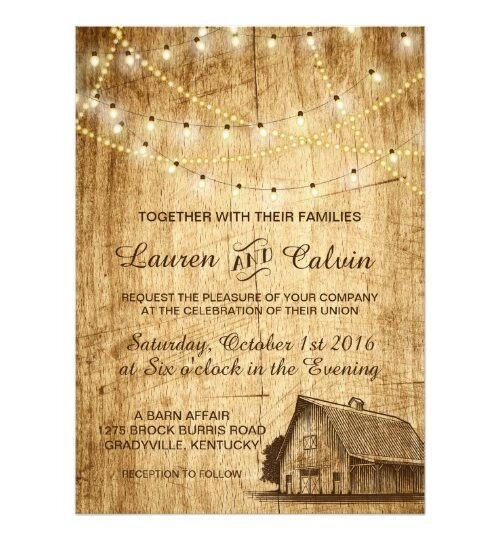 Barn Wedding in the Country