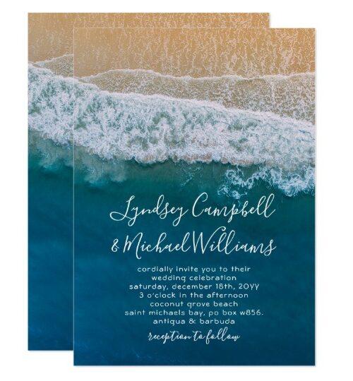 Elegant Beach Ocean Collection