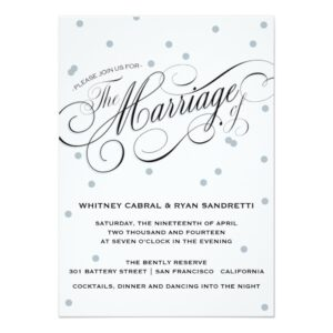 Simple & Elegant Polka Dot Wedding Collection