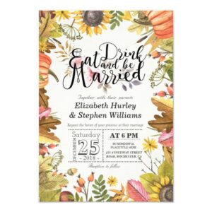 Elegant Autumn Maple Leaves Weddings