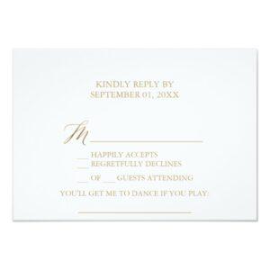 Elegant Gold Calligraphy Wedding Collection