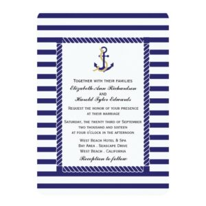 Elegant Nautical Wedding Collection
