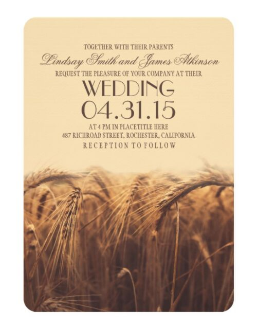 Wheat Wedding Collection