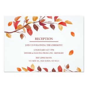 Autumn Leafs Fall Wedding Collection