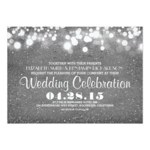 Glitter and Shimmer Wedding Collection