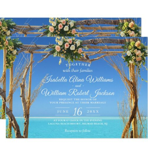 Wedding Set: Beach Wedding Gate