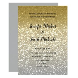 Gold and Silver Wedding