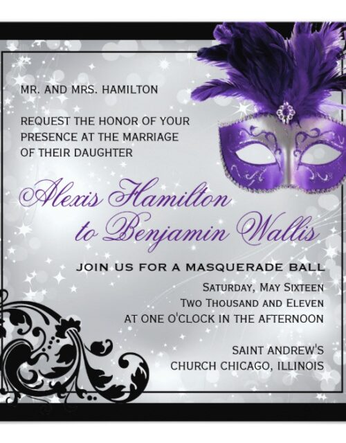 All about Masquerade Parties