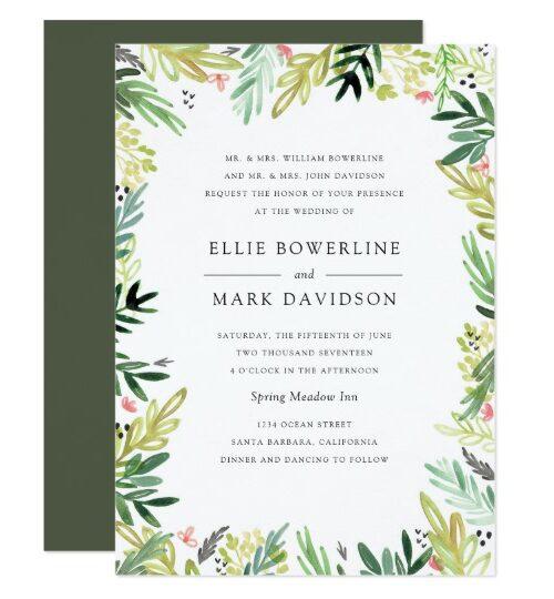 Bestselling Wedding Theme Invitations