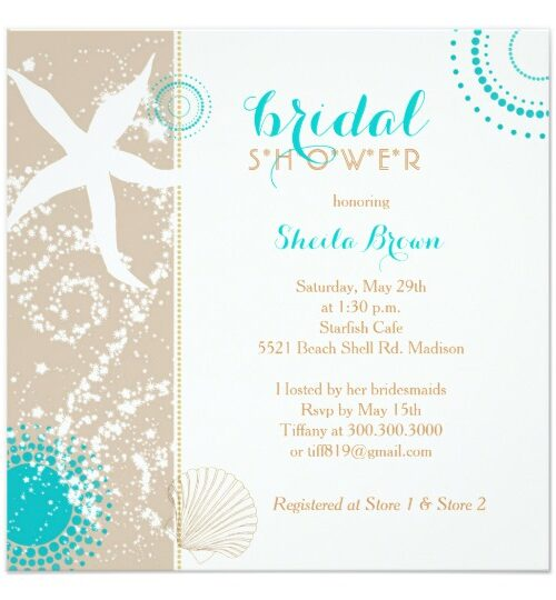 Ivory, Tan & Teal Beach Wedding Celebration