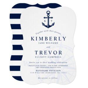 Nautical |  Love Drops Anchor | Wedding