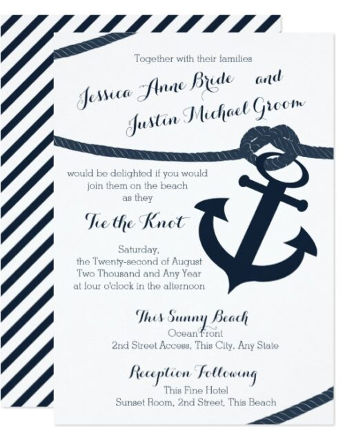 Nautical Anchor and Rope