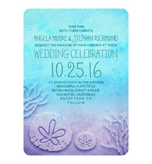 Sand Dollar Beach Wedding Collection