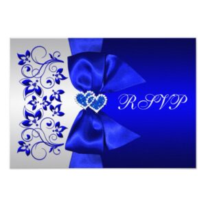 Assorted Cobalt Blue Wedding Designs