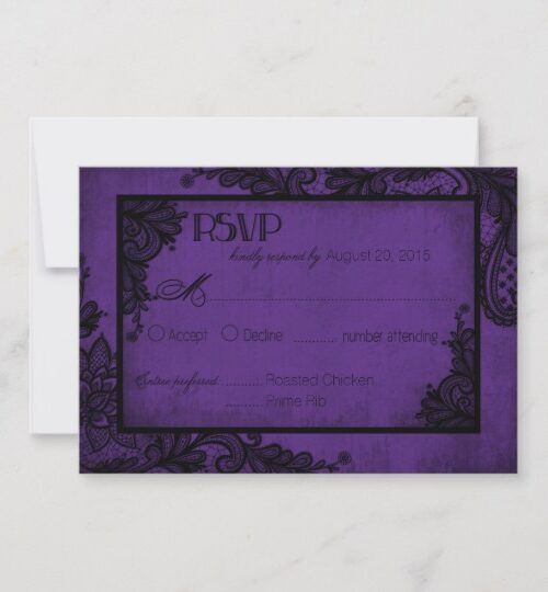 Goth Lace Purple