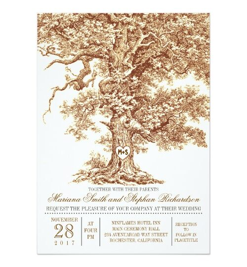 Oak Tree Wedding Collection