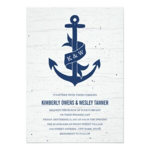 Rustic Nautical Collection / Navy