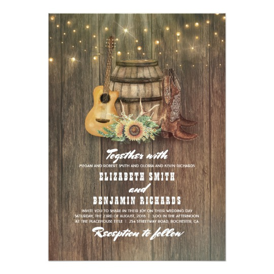 Cowboy Boots And Wine Barrel Honor Obey Wedding Gifts
