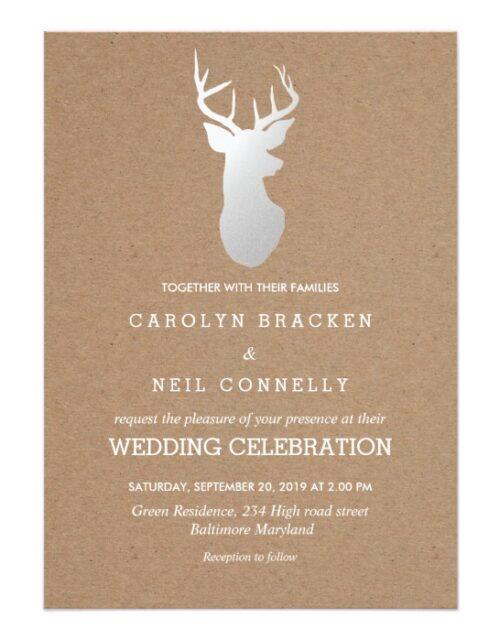 Antler Wedding Collection