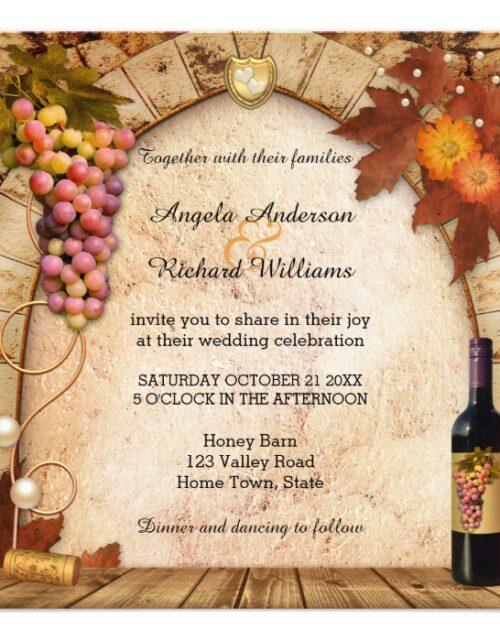 Vineyard or Wine Theme Wedding 2