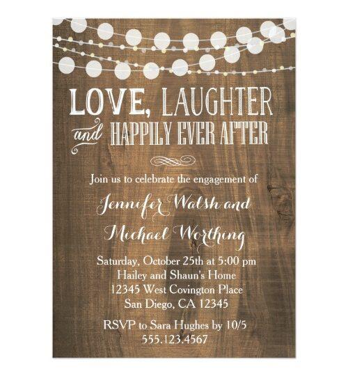 Best Rustic Wedding Invitations Organized by Style