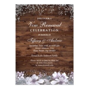 Vow Renewal We Still Do Invitation Collection