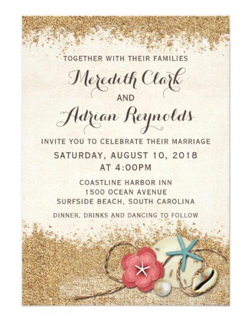 Sandy Beach Wedding Collection