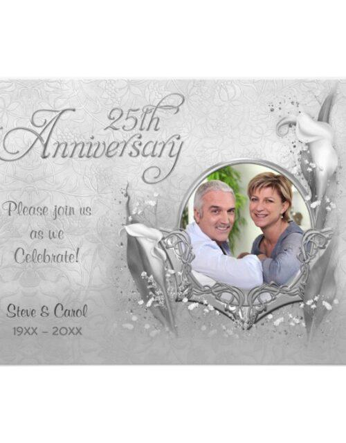 25th Silver Calla Anniversary